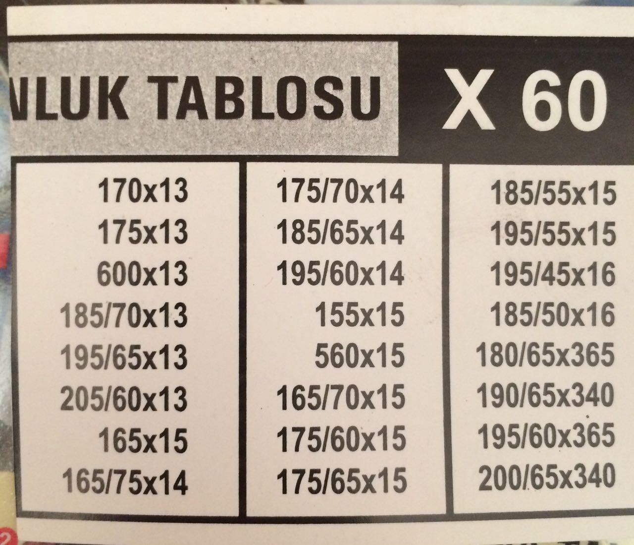 PATİNAJ ZİNCİRİ GP06 ELT60 165X13 TAKMATİK STİP BİNEK ARAÇ (RESİME BAKINIZ)