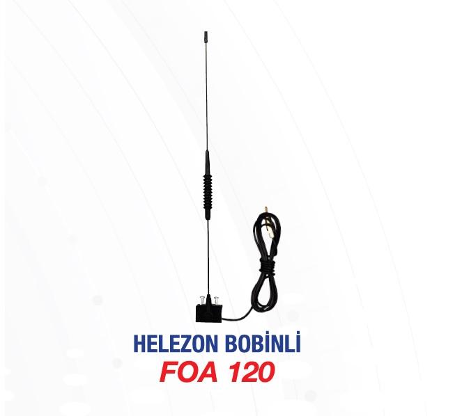 ANTEN KOMPLE FOA120 OLUK İÇİN HELEZON BOBİNLİ