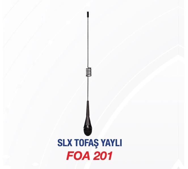 ANTEN KOMPLE FOA201 SLX YAYLI