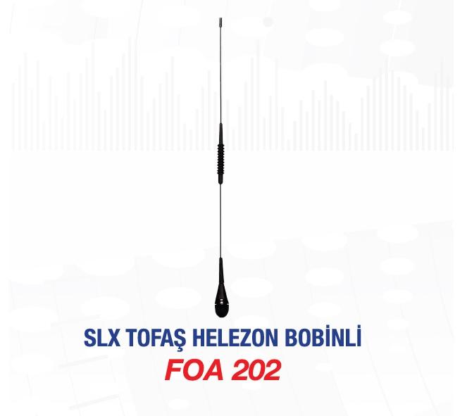 ANTEN KOMPLE FOA202 SLX BOBİNLİ