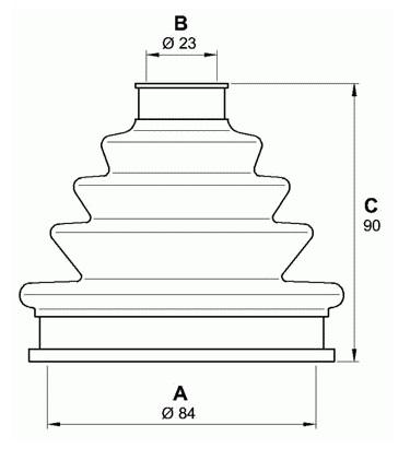 AKS KÖRÜĞÜ 303428 VOLVO S40 (95-99)