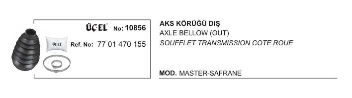 AKS KÖRÜĞÜ DIŞ 10856 MASTER SAFRANE 7701470155